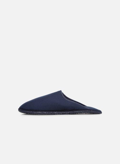 Pantuflas Giesswein Phoenix Azul vista de frente