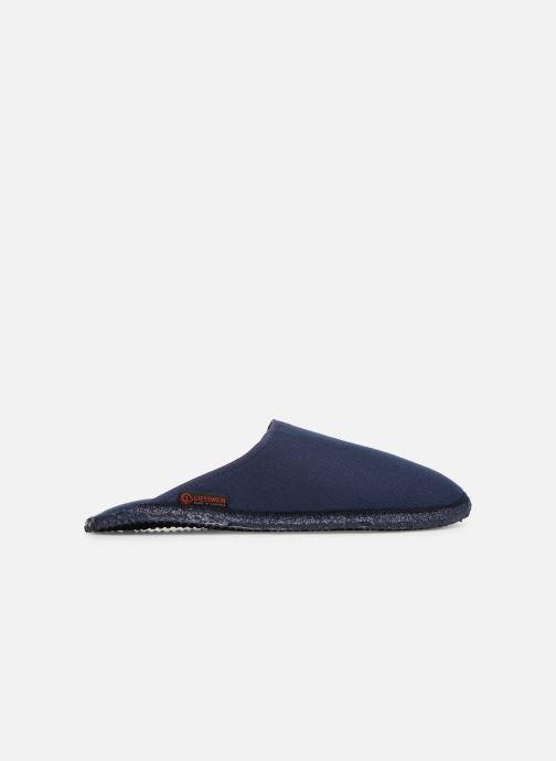 Pantoffels Giesswein Phoenix Blauw achterkant