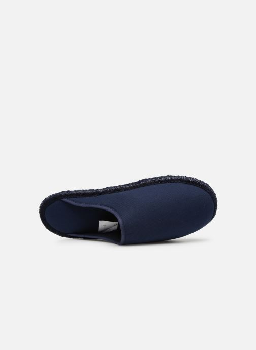 Slippers Giesswein Phoenix Blue view from the left