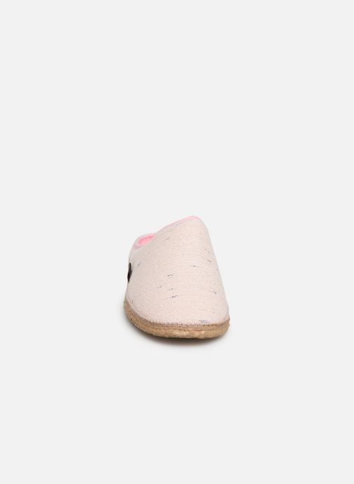 Pantoffels Giesswein Plauen I Roze model
