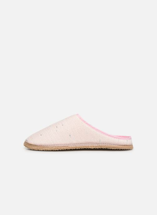 Pantoffels Giesswein Plauen I Roze voorkant