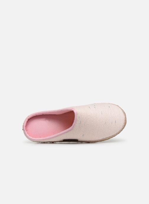 Pantoffels Giesswein Plauen I Roze links
