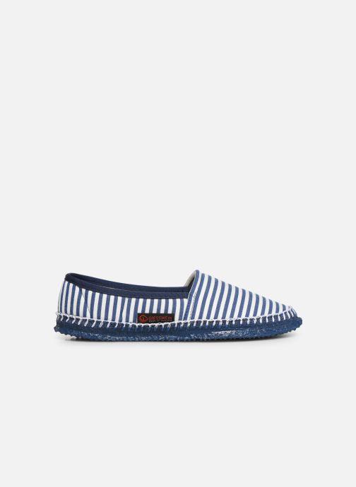 Pantoffels Giesswein Perach Blauw achterkant