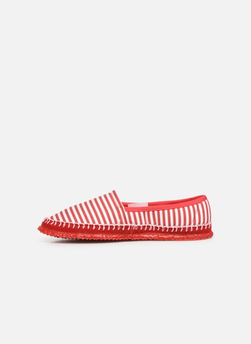Chaussons Giesswein Perach Rouge vue face