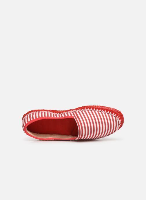 Pantoffels Giesswein Perach Rood links