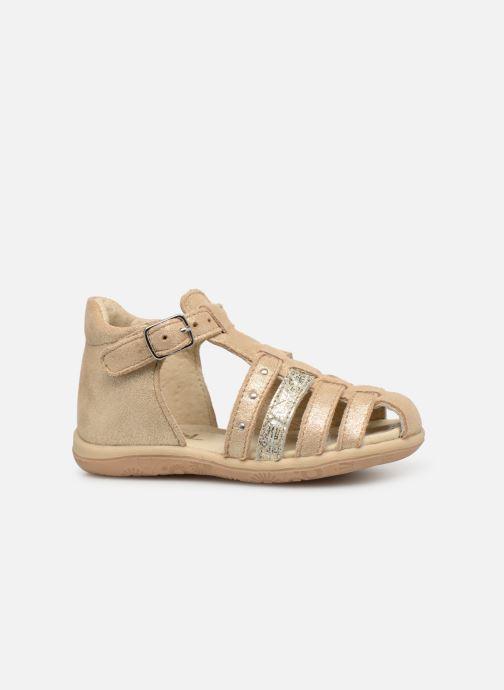 Sandales et nu-pieds Noël Mini Lady Or et bronze vue derrière