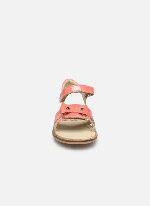 Sandali e scarpe aperte Noël Siam Arancione modello indossato