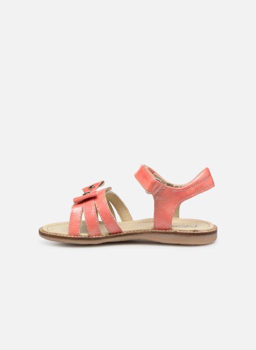 Sandales et nu-pieds Noël Siam Orange vue face