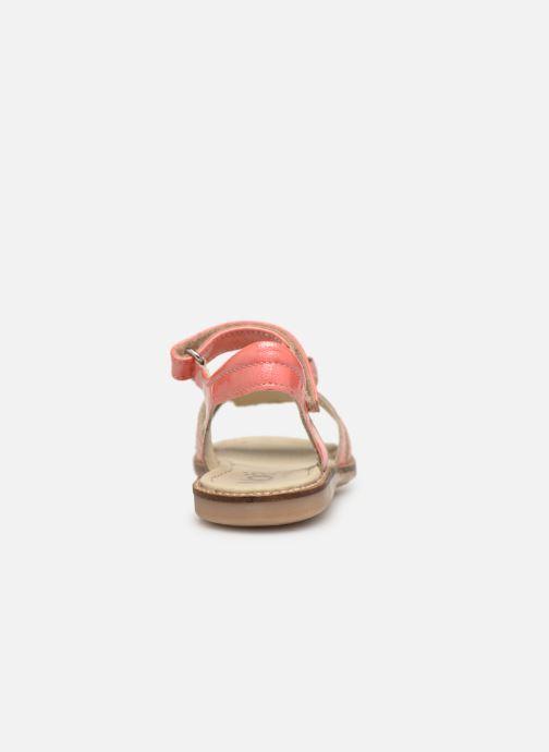 Sandales et nu-pieds Noël Siam Orange vue droite