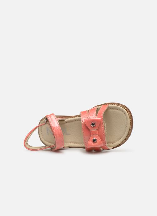 Sandales et nu-pieds Noël Siam Orange vue gauche