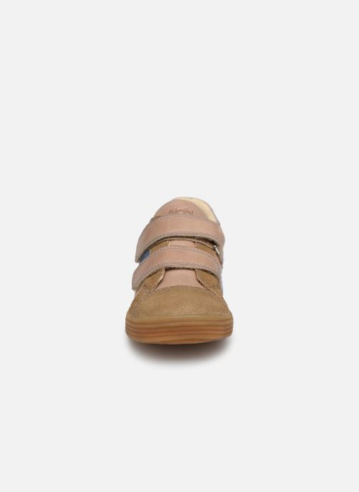 Baskets Noël Rossi Beige vue portées chaussures