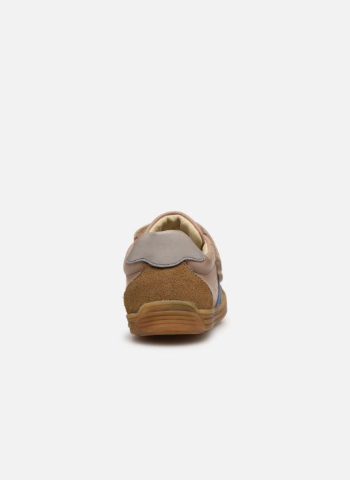 Sneaker Noël Rossi beige ansicht von rechts