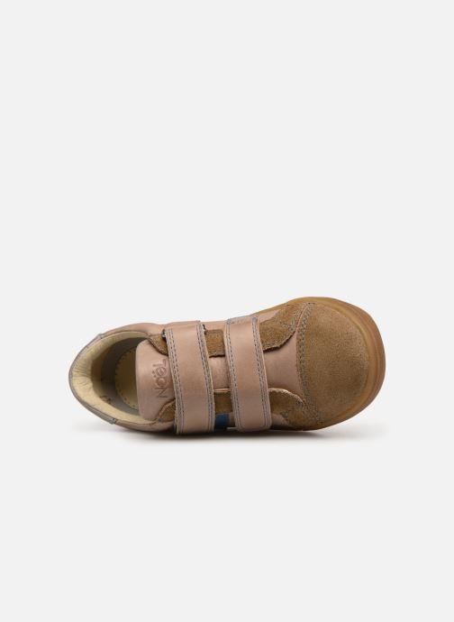 Sneaker Noël Rossi beige ansicht von links