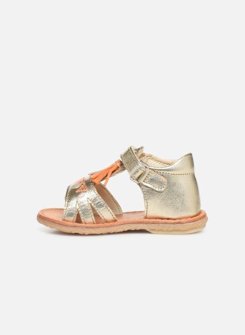 Sandales et nu-pieds Noël Mini Seville Or et bronze vue face