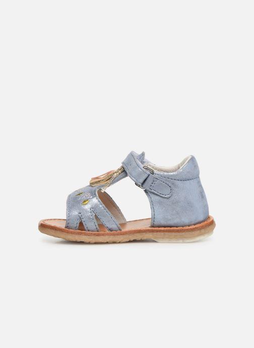 Sandales et nu-pieds Noël Mini Seville Bleu vue face