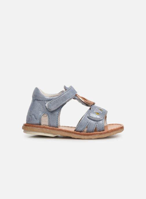 Sandales et nu-pieds Noël Mini Seville Bleu vue derrière