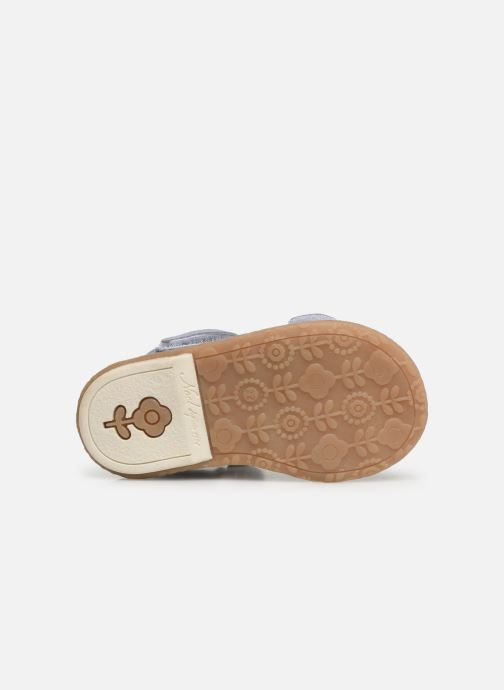 Sandales et nu-pieds Noël Mini Seville Bleu vue haut