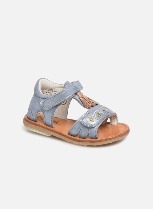Sandales et nu-pieds Noël Mini Seville Bleu vue détail/paire