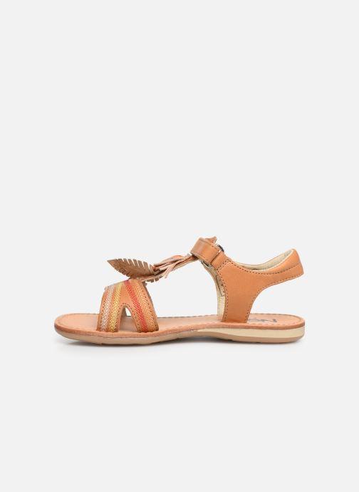 Sandales et nu-pieds Noël Saigon Marron vue face