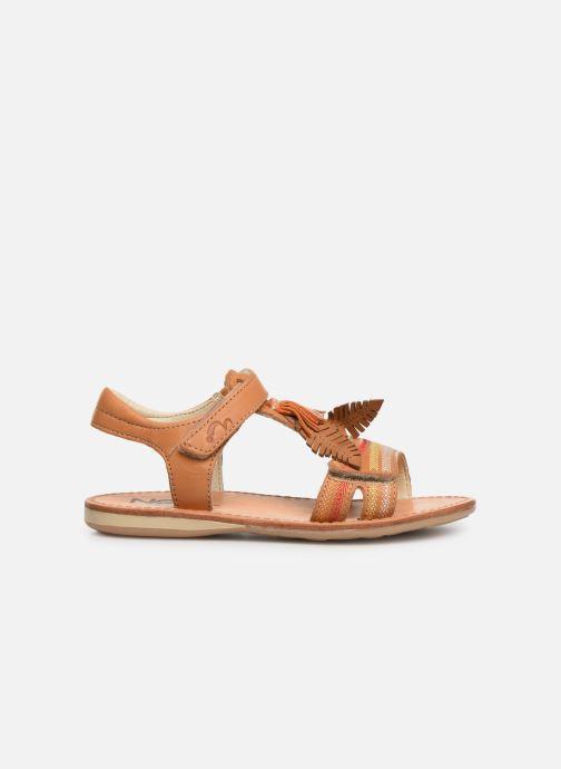 Sandales et nu-pieds Noël Saigon Marron vue derrière