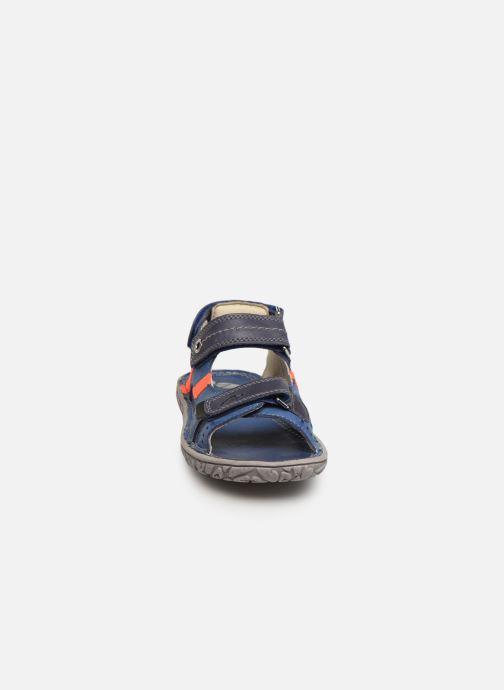 Sandalen Noël Bao blau schuhe getragen