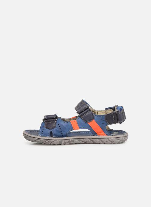 Sandalen Noël Bao blau ansicht von vorne