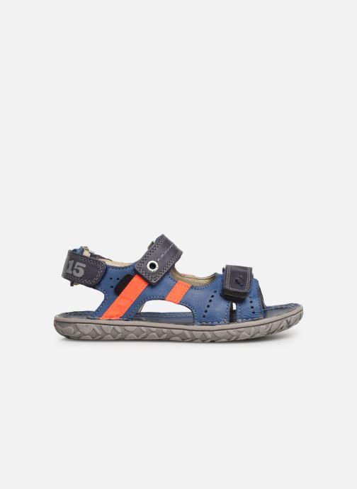Sandalen Noël Bao blau ansicht von hinten