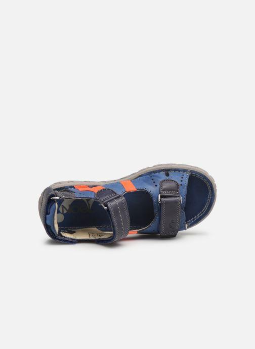 Sandalen Noël Bao blau ansicht von links
