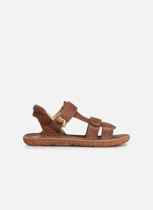 Sandali e scarpe aperte Noël Berto Marrone immagine posteriore