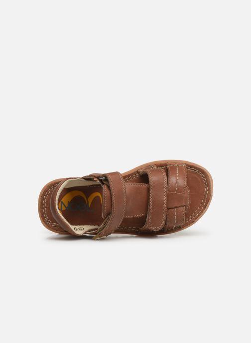 Sandali e scarpe aperte Noël Berto Marrone immagine sinistra