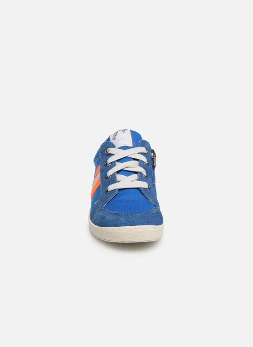 Baskets Noël Bruce Bleu vue portées chaussures