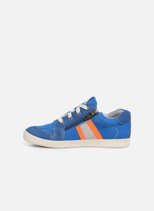Sneaker Noël Bruce blau ansicht von vorne
