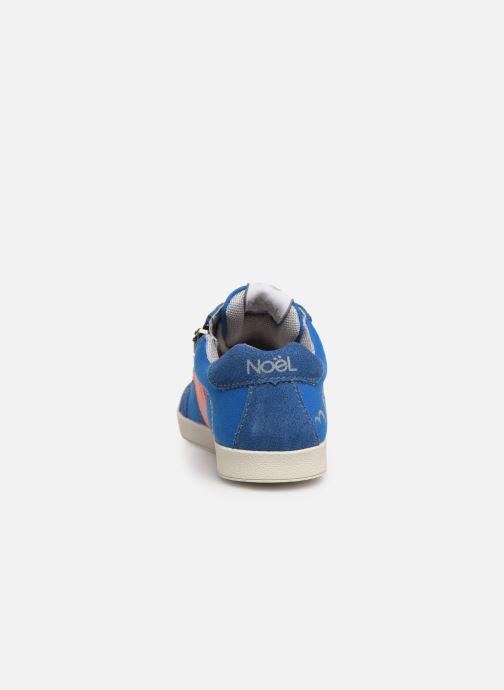 Sneaker Noël Bruce blau ansicht von rechts