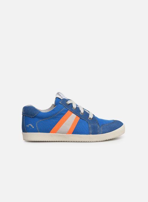 Sneaker Noël Bruce blau ansicht von hinten