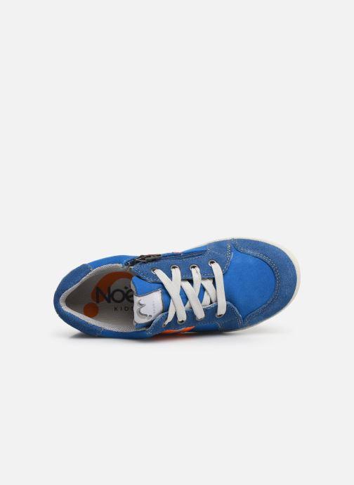 Sneaker Noël Bruce blau ansicht von links