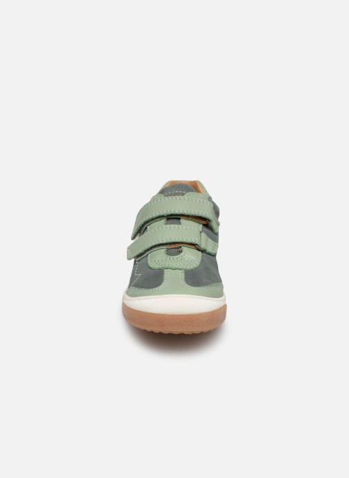 Baskets Bisgaard Stefan Vert vue portées chaussures