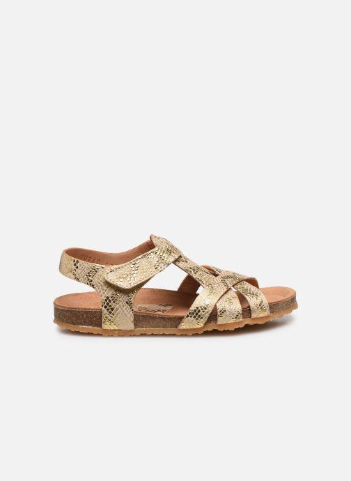 Sandales et nu-pieds Bisgaard Albert Or et bronze vue derrière