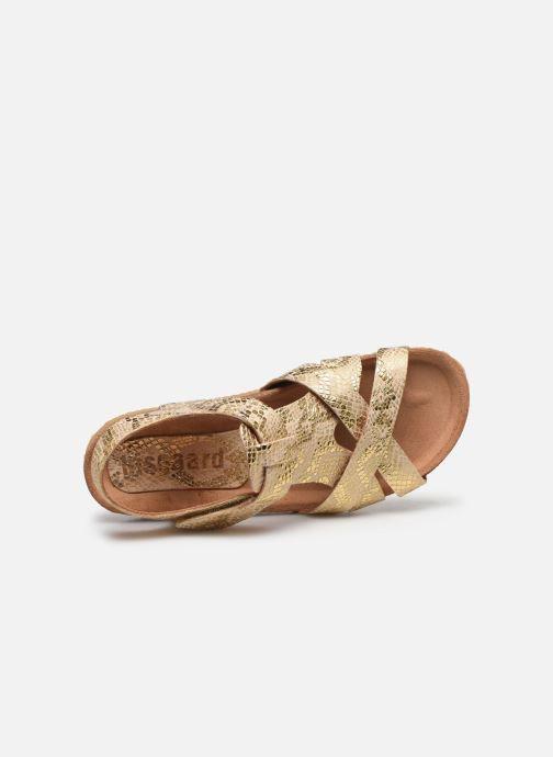 Sandales et nu-pieds Bisgaard Albert Or et bronze vue gauche