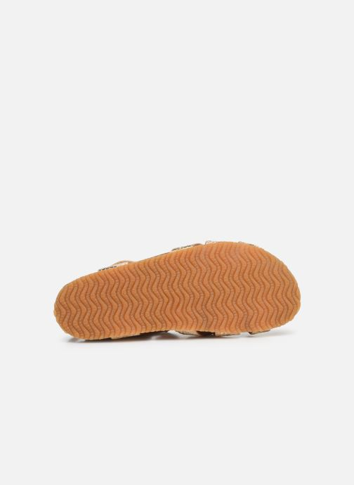 Sandales et nu-pieds Bisgaard Albert Or et bronze vue haut