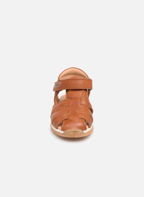 Sandales et nu-pieds Bisgaard Aleksi Marron vue portées chaussures