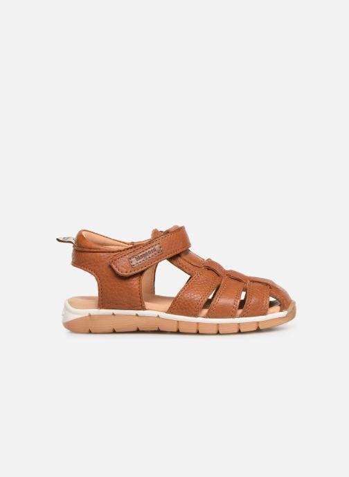 Sandales et nu-pieds Bisgaard Aleksi Marron vue derrière