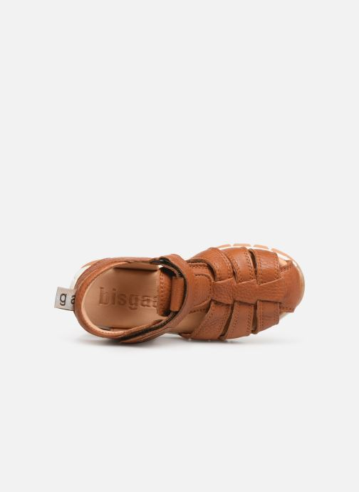 Sandales et nu-pieds Bisgaard Aleksi Marron vue gauche