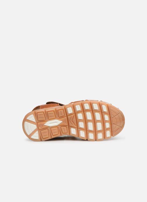 Sandales et nu-pieds Bisgaard Aleksi Marron vue haut