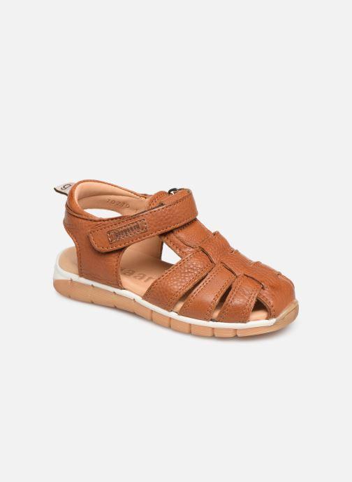 Sandales et nu-pieds Bisgaard Aleksi Marron vue détail/paire