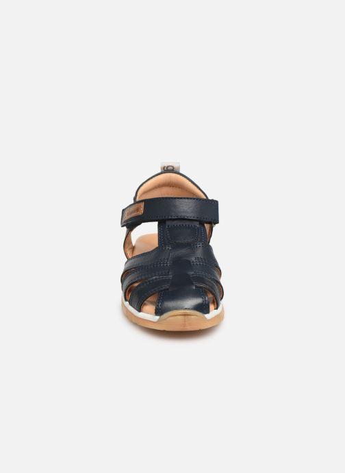 Sandales et nu-pieds Bisgaard Aleksi Bleu vue portées chaussures