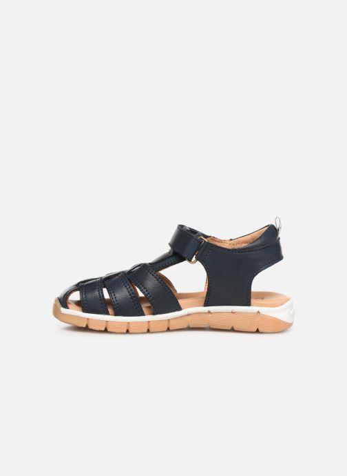 Sandales et nu-pieds Bisgaard Aleksi Bleu vue face