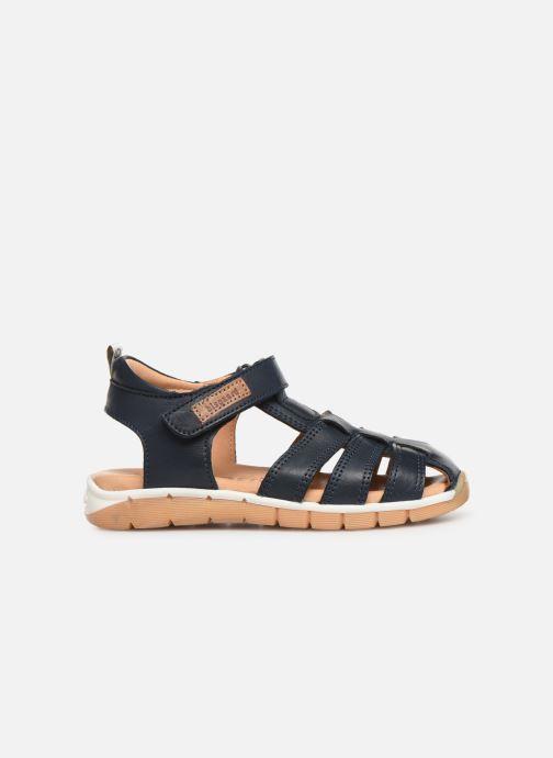 Sandales et nu-pieds Bisgaard Aleksi Bleu vue derrière