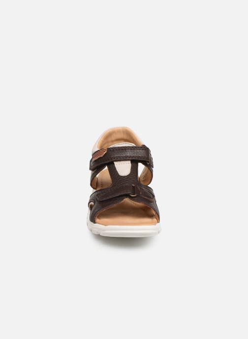 Sandales et nu-pieds Bisgaard Ivar Marron vue portées chaussures