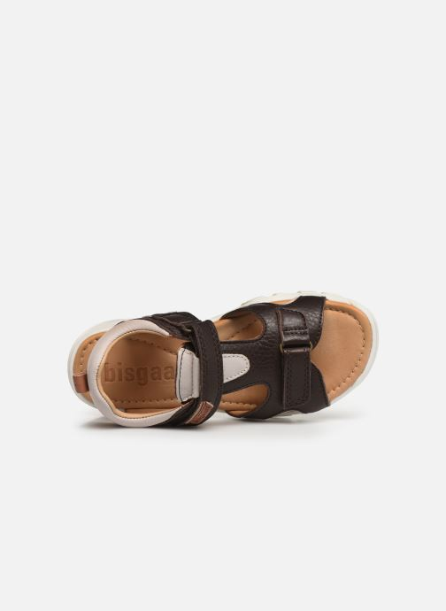 Sandals Bisgaard Ivar Brown view from the left