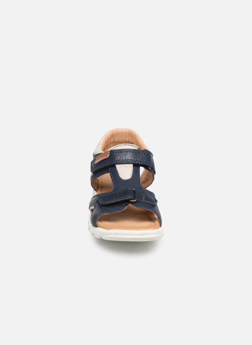 Sandales et nu-pieds Bisgaard Ivar Bleu vue portées chaussures